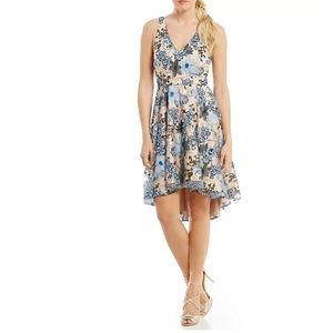 Belle Badgley Mischka Rayna Floral Sequin Dress